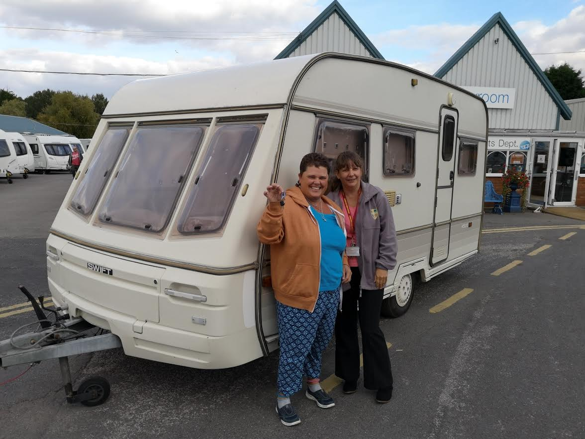 Yorkshire caravan donate