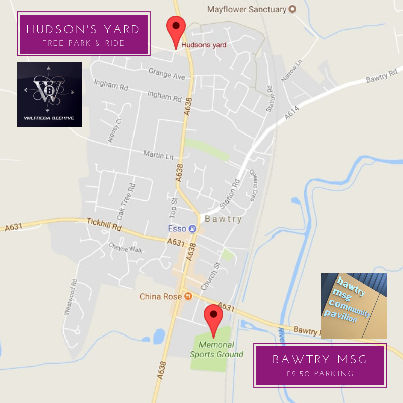 bawtry christmas time map