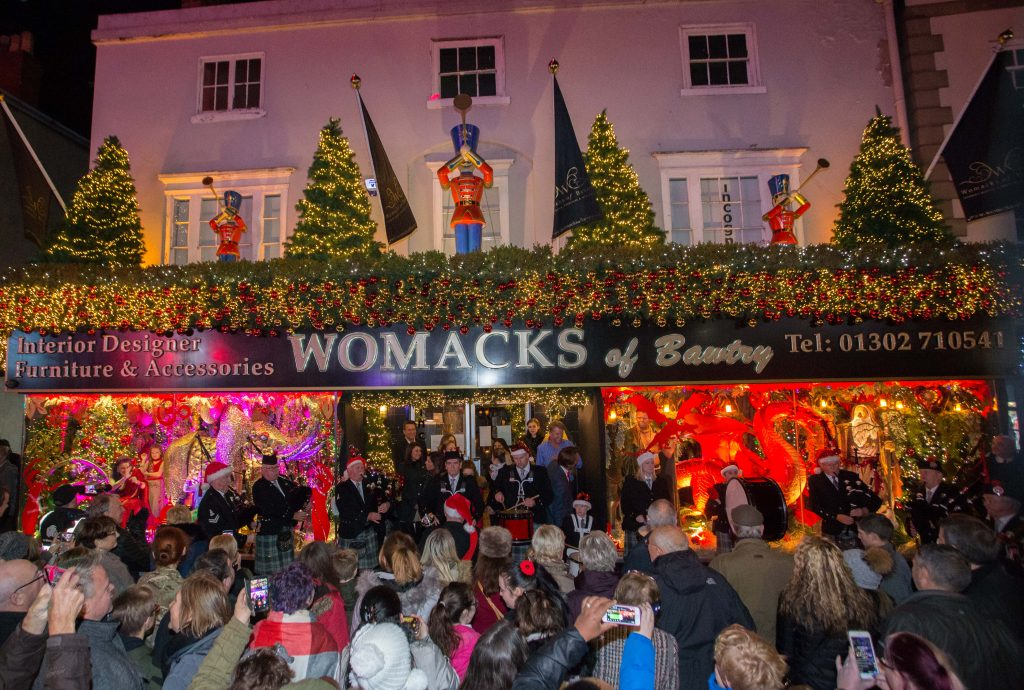 Womack's of Bawtry Christmas Display