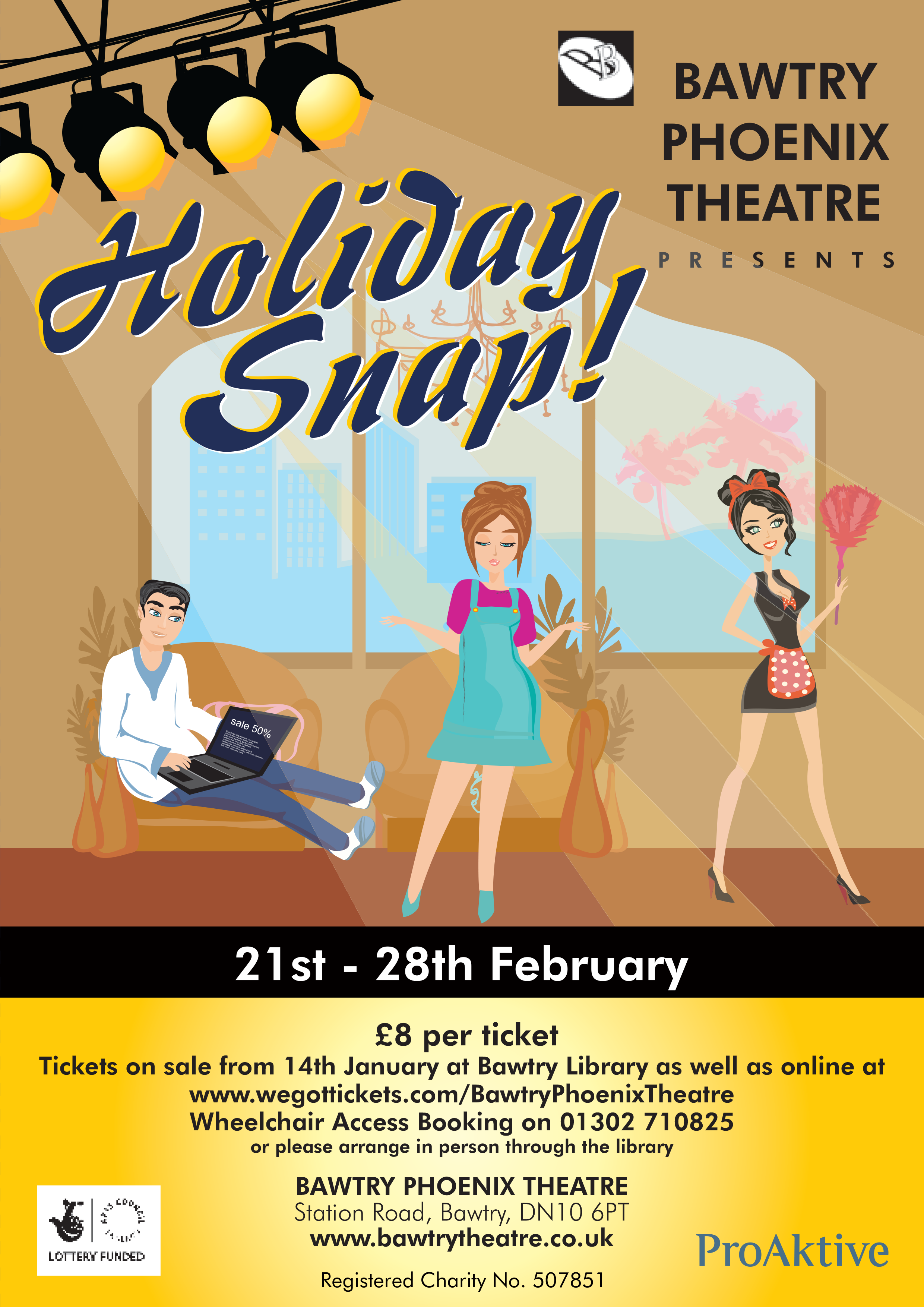 Watch Bawtry Phoenix Theatre's 'The Sketch Show' | Visit Bawtry
